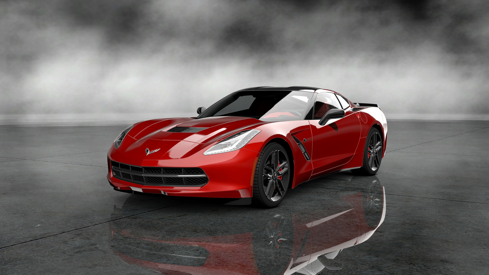 2014 corvette stingray makes its debut on gran turismo 5 gamer living. Black Bedroom Furniture Sets. Home Design Ideas