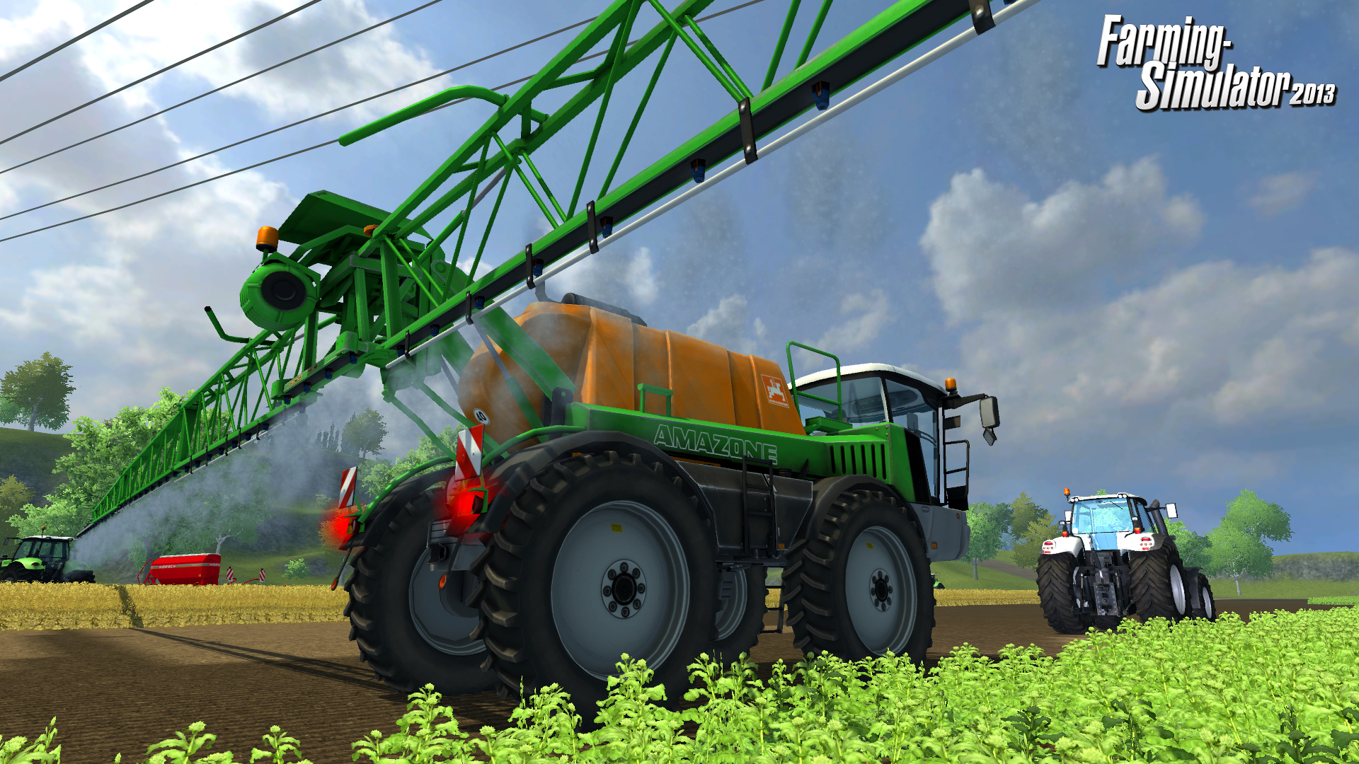 Farming Simulator 2013 receives a 3.75/5.0
