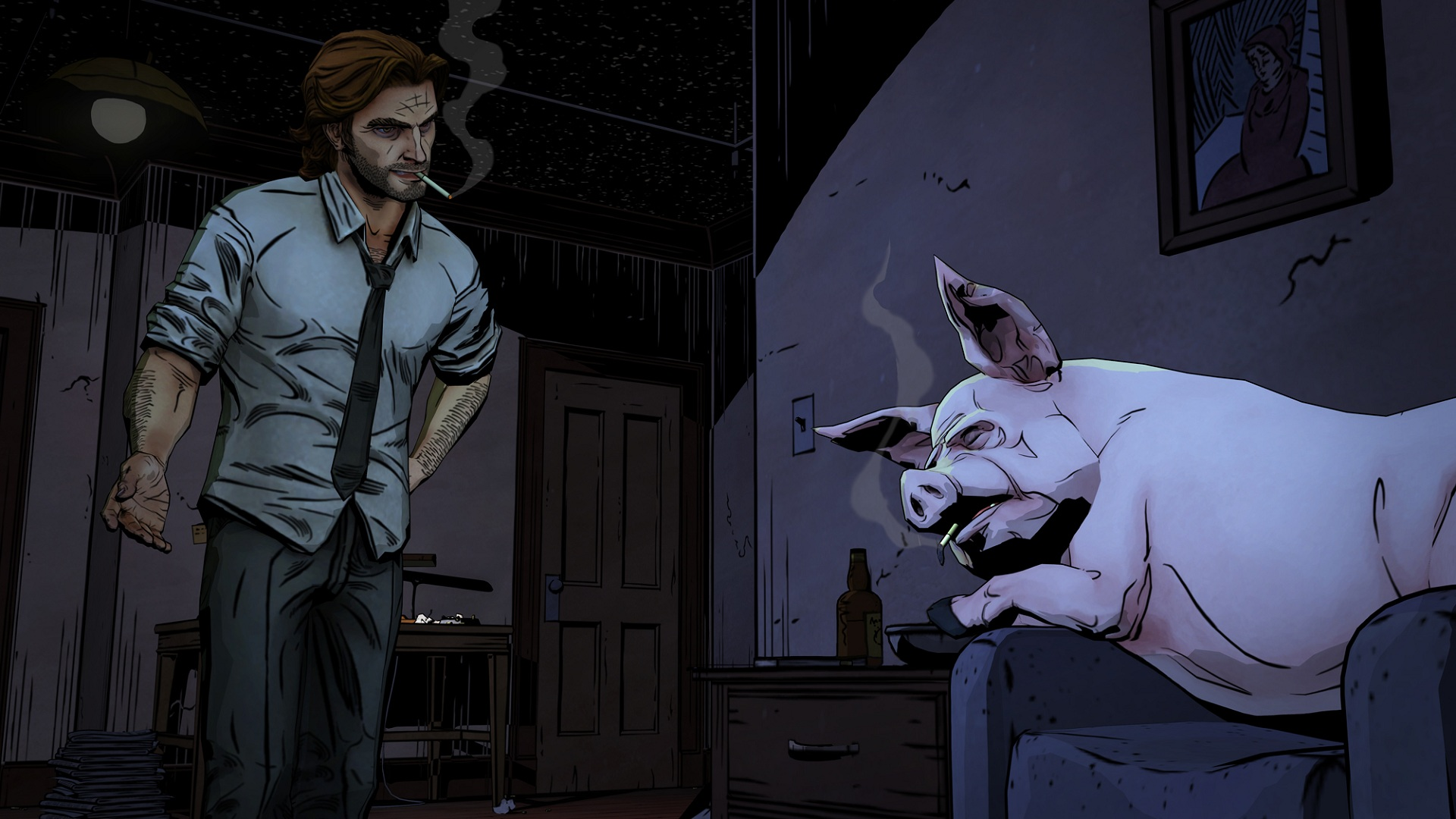 the wolf among us shares first screenshots gamer living. Black Bedroom Furniture Sets. Home Design Ideas