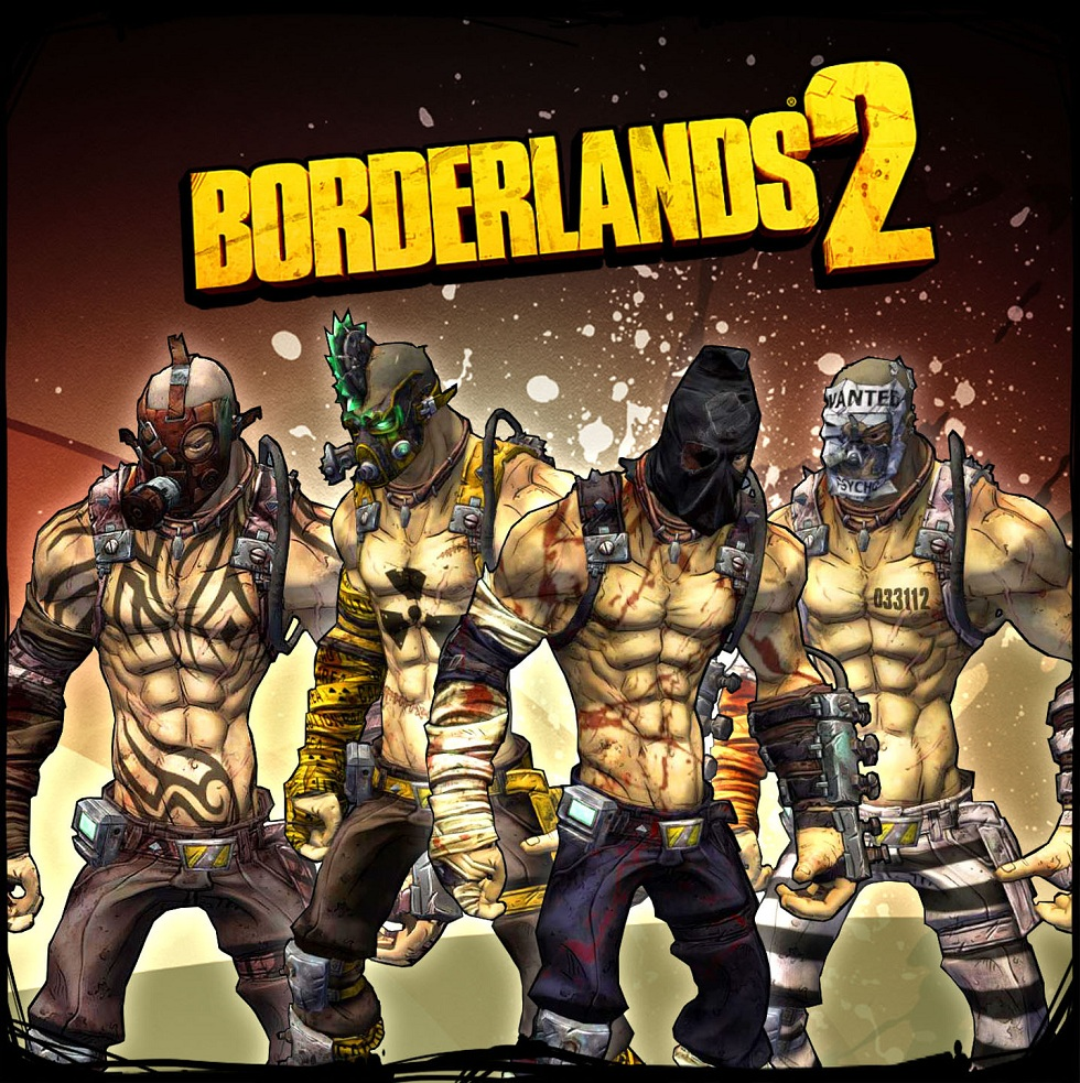 Image Gallery Borderlands 1 Characters