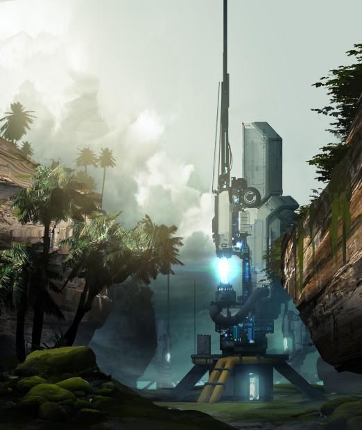 Halo 4 Champions Bundle Concept Vertigo - Spire
