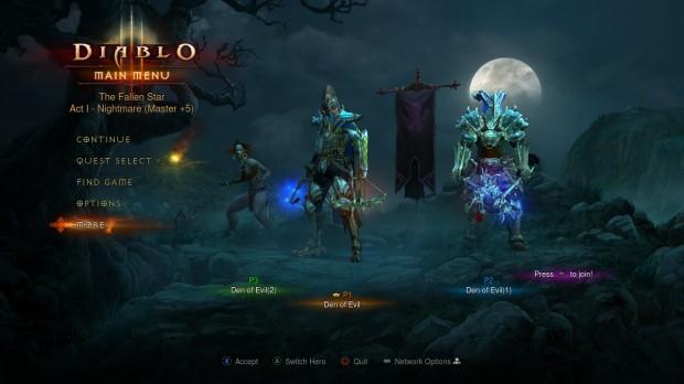 Diablo 3 Console